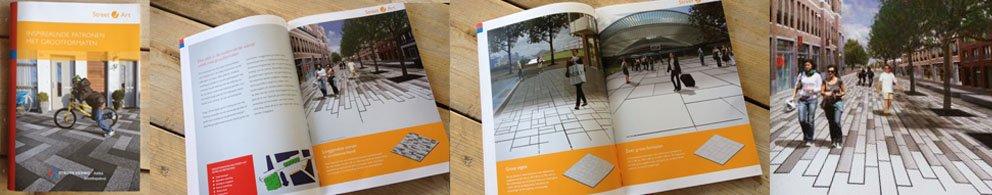 Brochure over grootformaten van Struyk Verwo is uit