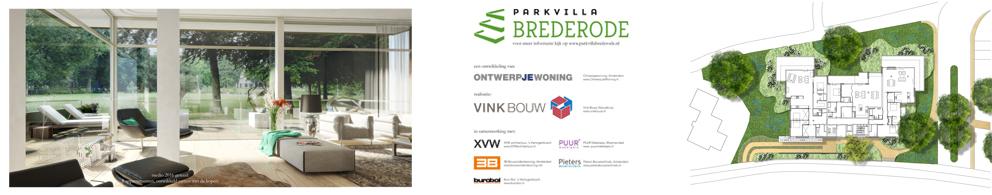 Parkvilla start bouw