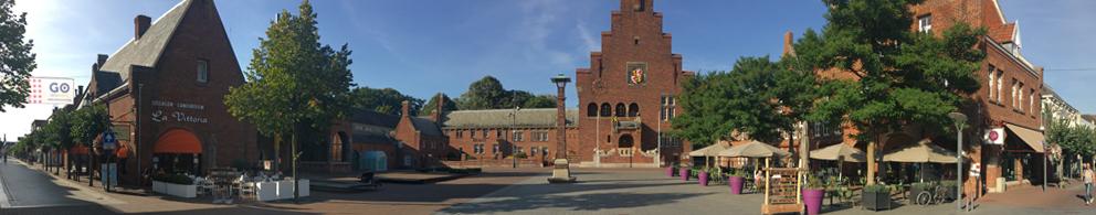 Burobol start ontwerp Raadhuisplein en Markt Waalwijk